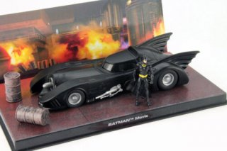 IXO 1/43 バットモービル Moviecar Batman 1989 black