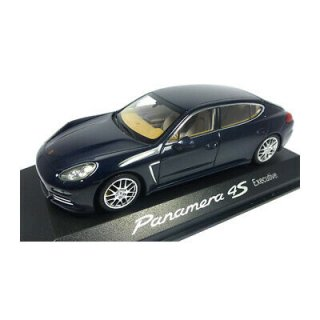 直輸入 MINICHAMPS 1/43 ポルシェ Panamera 4S Executive Gen II. year 2014 dark
