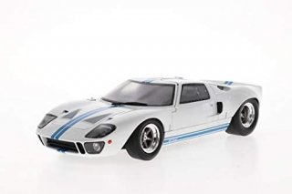 直輸入 Solido 1/18 Ford GT40 MK I year 1968 white / blue