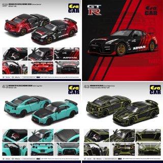 ご予約受付【2月】EraCar 1/64 #ERA Nissan GT-R(R35) 3台お買い得予約セット