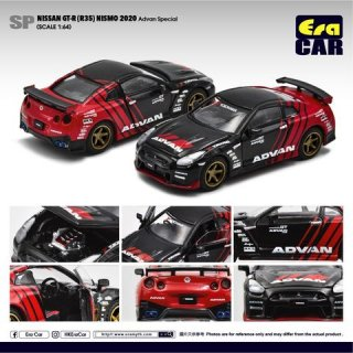 ご予約受付【2月】EraCar 1/64 SP34 Nissan GT-R(R35)Nismo 2020 Advan Special