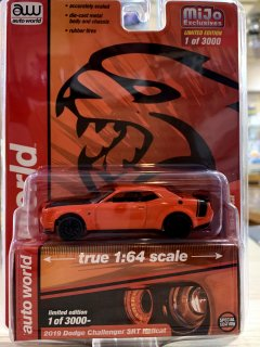 Auto World 1/64 Dodge Challenger SRT Hellcat 2019 CP7721 オレンジ