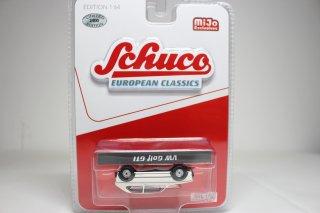 <エラー品> Schuco 1/64 VW ゴルフ GTI (Mk1) ホワイト ( 1/64 シュコー 452024600)