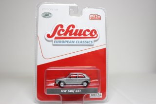 Schuco 1/64 VW ゴルフ GTI (Mk1) =チェイスカー= ( 1/64 シュコー 452024600)