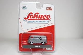 "Schuco 1/64 VW T1 バン アバルト ""Ferrari AUTOMOBILES"" =チェイスカー= ( 1/64 シュコー 452024700)"