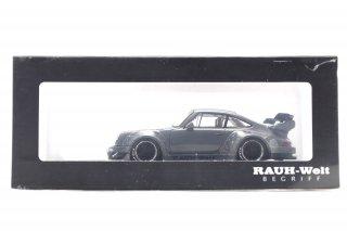 モデルコレクト 1/64 RWB930 GT Wing セメントグレー ホイール:ブラック (1/64 モデルコレクト MC640003G-1 )