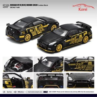 ご予約受付【3月】シンガポール Korei Exclusive特注モデル EraCar 1/64  Nissan GT-R (R35) Golden Black マットブラック