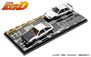 頭文字D セット Vol.1 (2台セット) ( 1/64 モデラーズ MD64201 )