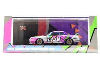 "INNO 1/64 日産スカイライン GT-R (R32) #22 ""AXIA"" JTC 1992 (イノモデル IN64-R32-AXIA92)"