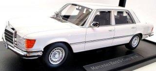 海外直輸入 iScale 1/18 メルセデス ベンツ Sクラス 450 SEL 6.9 (W116) 1975-1980 ホワイト ( 18081 )