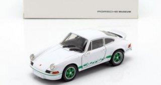 海外直輸入 Welly 1/24  ポルシェ 911 Carrera RS 1973 ホワイト / グリーン (MAP02482218)
