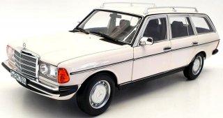 直輸入 NOREV 1/18  メルセデス ベンツ 200 T (S123) 1982 ホワイト ( ノレブ 183733)