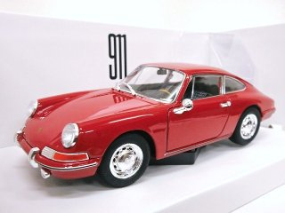 海外直輸入 Welly 1/24 Porsche 911 year 1964 レッド ( ウェリー MAP02482218 )