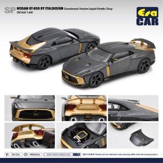 ご予約受付【7月】EraCar 1/64 SP44  Nissan GT-R50 By Italdesign Goodwood Version Grayグレー