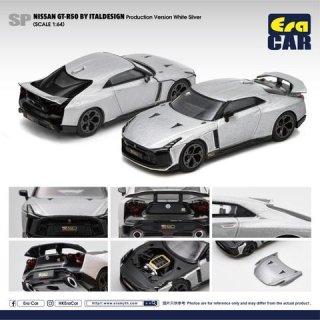ご予約受付【7月】EraCar 1/64 SP50  Nissan GT-R50 By Italdesign - Production Version  Silverシルバー