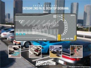 <img class='new_mark_img1' src='https://img.shop-pro.jp/img/new/icons13.gif' style='border:none;display:inline;margin:0px;padding:0px;width:auto;' />デスクトップジオラマ Tatsumi 2nd PA(XL) Japan Car  Desktop Diorama 900mm×400mm ※収納袋付き