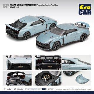 ※追加カラーご予約受付【7月】EraCar 1/64 SP51  Nissan  GT-R50 By Italdesign - Production Version Pearl Blueパールブルー