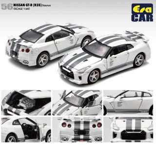 EraCar 1/64  ERA56  Nissan GT-R (R35) ザウルス(ボンネット・ドア開閉)