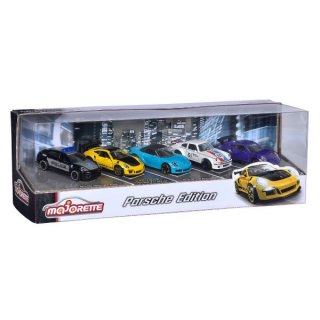 海外直輸入 Majorette 1/64 5-Car Set Porsche Edition ギフトパック