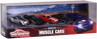 海外直輸入 Majorette 1/64 5-Car Set American Muscle Cars ギフトパック
