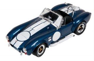海外直輸入 シェルビーコレクティブルズ 1/18 シェルビー コブラ 427 S/C year 1965 blue / white