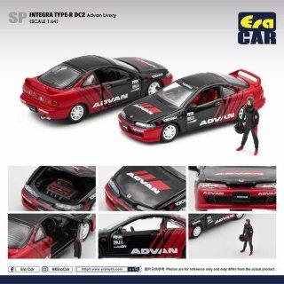 予約受付【10月】EraCar 1/64 SP53 HONDA Integra Type R Dc2 Advan Livery
