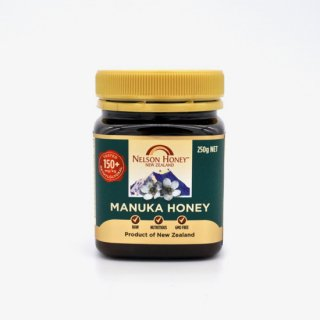 <img class='new_mark_img1' src='https://img.shop-pro.jp/img/new/icons29.gif' style='border:none;display:inline;margin:0px;padding:0px;width:auto;' />Nelson Honey Manuka Honey MG150+(250g) ネルソンハニー社のマヌカハニーMG150+