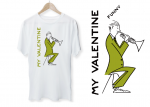 SunsignDesign<br>MY FUUNY VALENTINE T-shirt