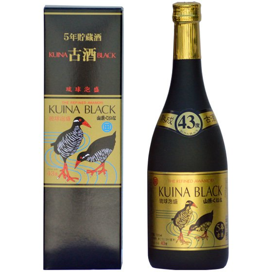 <img class='new_mark_img1' src='https://img.shop-pro.jp/img/new/icons5.gif' style='border:none;display:inline;margin:0px;padding:0px;width:auto;' />KUINA BLACK【43度】5年古酒100%ゴールド:720ml