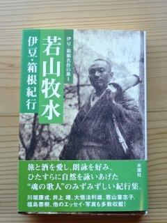 若山牧水 伊豆・箱根紀行