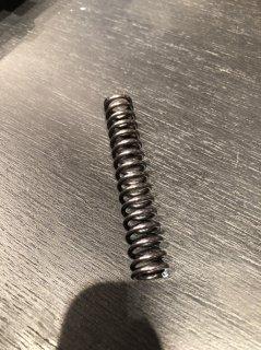 交換用スプリング(刷り台側アーム用 70mm)