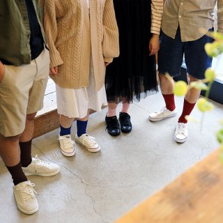 紙の靴下「紙衣(かみこ)」リブ14cm丈 婦人 日本製