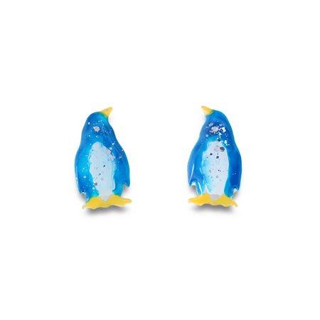 mikazuki hanameオリジナル イヤリング(ペンギン)