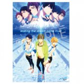 劇場版 Free!-Road to the World-夢 HGポスター