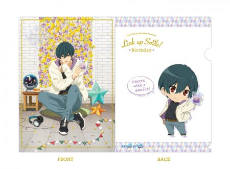 Free!シリーズ Link up Smile! BD クリアファイル【郁弥】