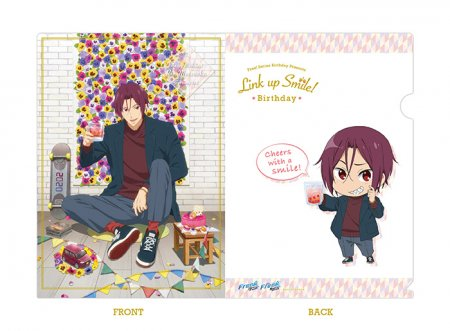 Free!シリーズ Link up Smile! BD クリアファイル【凛】