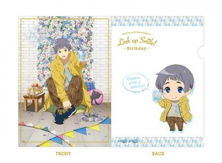 Free!シリーズ Link up Smile! BD クリアファイル【愛一郎】