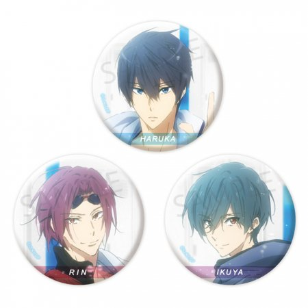 Free!-Dive to the Future- 缶バッジセット【Water】