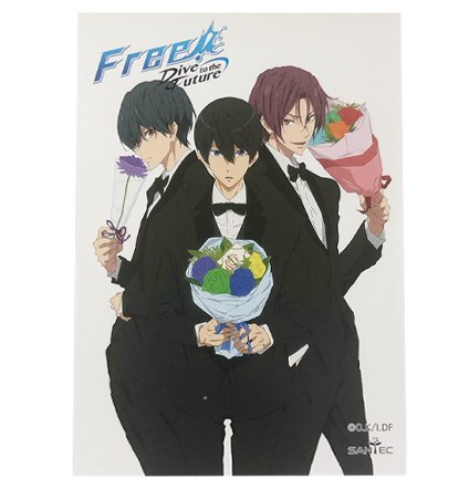Free! Dive to the Future-メモ帳-Tuxedo Ver
