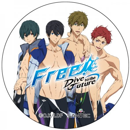 Free! Dive to the Future マスキングテープ3-遙・真琴・郁弥・旭Ver