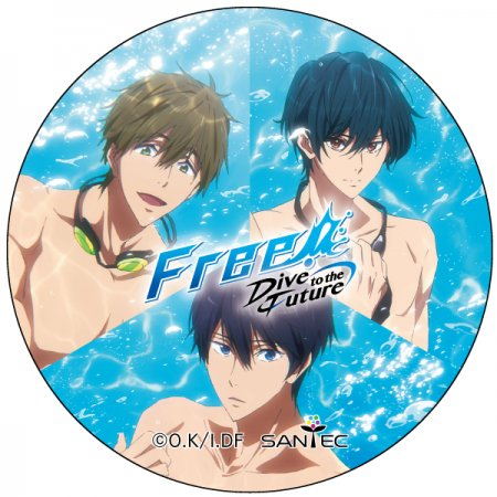 Free! Dive to the Future マスキングテープ2-遙・真琴・郁弥Ver
