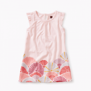 <img class='new_mark_img1' src='//img.shop-pro.jp/img/new/icons14.gif' style='border:none;display:inline;margin:0px;padding:0px;width:auto;' />【Tea】Border Graphic Baby Dressワンピース