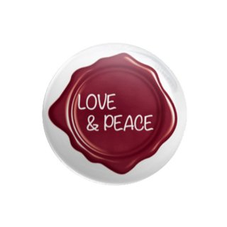 25mm缶バッジ(LOVE&PEACE)