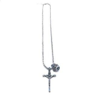 OUTLET アンティーククロスと王冠のネックレス 参考価格¥7,200→¥4,200 *サンプル放出品