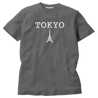 TOKYO RネックMEDIUMカットソー(チャコールグレイ) ★期間限定受注製作品 〜8月22日(日)まで