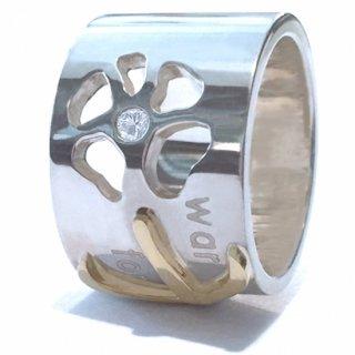 フラワーチルドレン18金ダイヤモンドリング