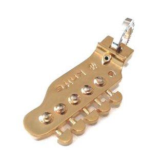 ギターヘッドペンダント GOLD