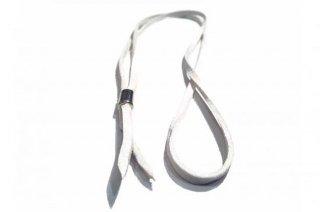 鹿革紐(ホワイト)
