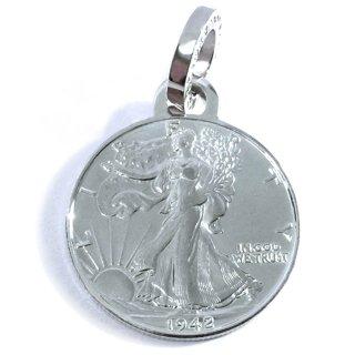 自由を取り戻す為のリアル銀貨ペンダント