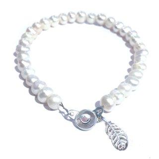 本真珠のブレス(ピュアホワイト)